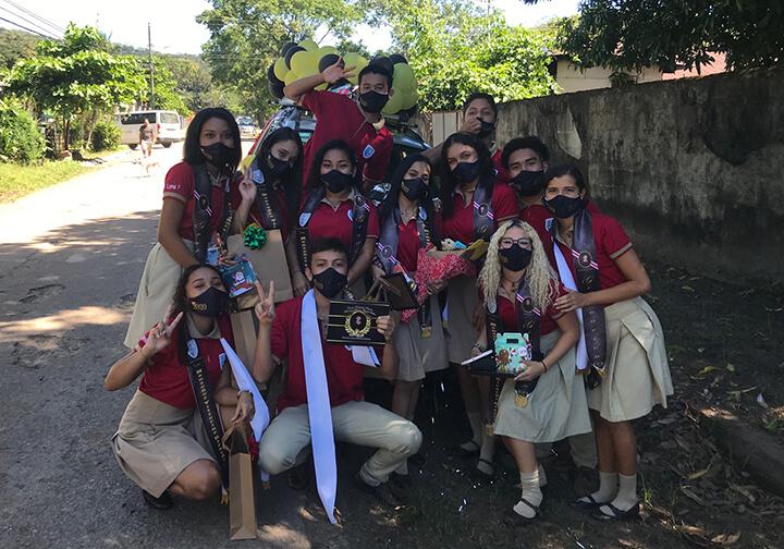 Costa Rica, Colegio Vittorino 2020 graduates