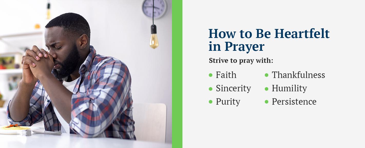 How to Be Heartfelt in Prayer