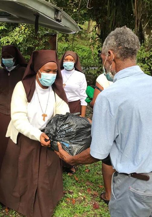 Jamaica_CFSOP_CFSOP procure immediately needed food supplies for suffering children and their families