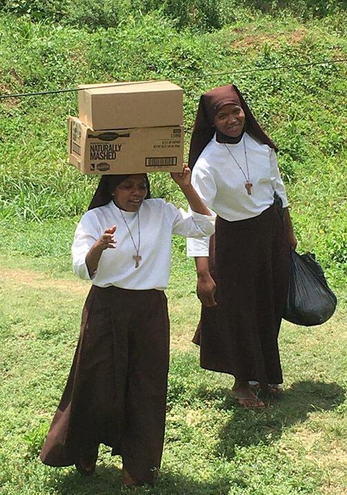 CFSOP in Jamaica delivering vital basic needs