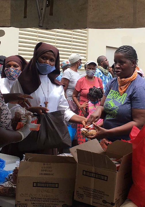 CFSOP in Jamaica are helping people during Covid pandemic