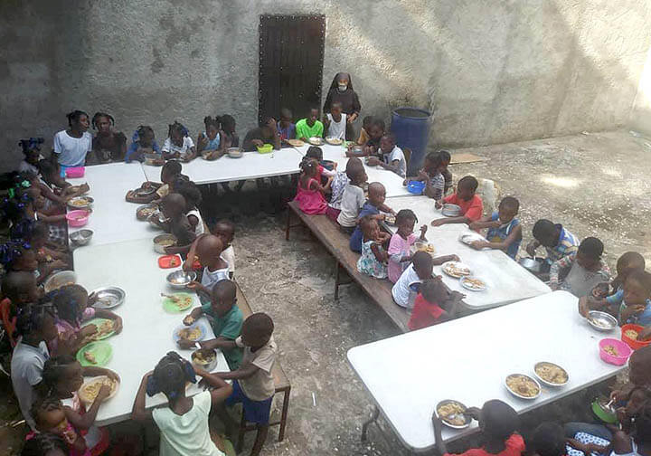 Haiti CFSOP Children 2021 Feeding and Nutrition Outreach Program