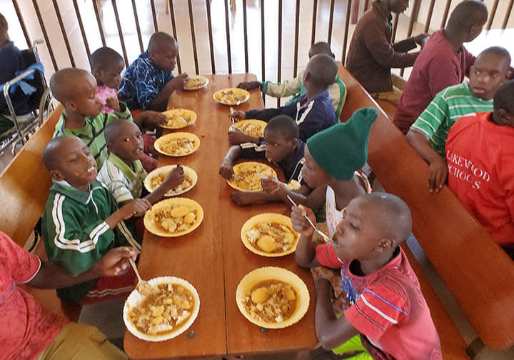 MOP brothers feeding orphans in Kenya