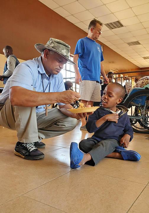 Missionaries of the Poor helping orphans in Kenya