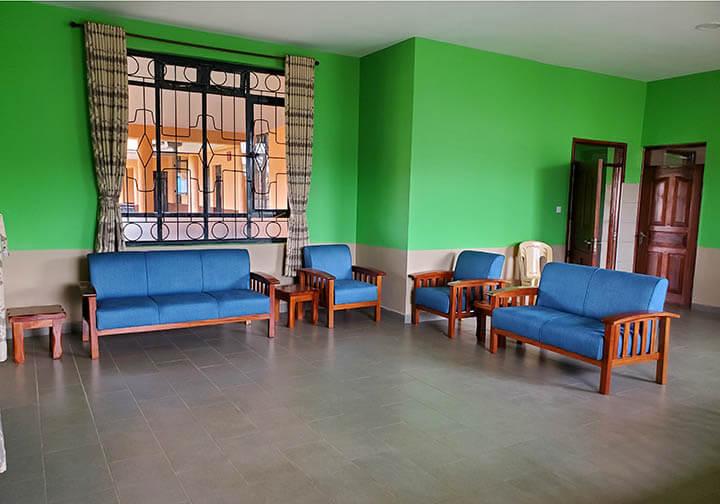 Missionaries of the Poor new furniture in Kenya monastery
