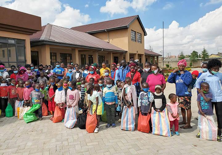 Missionaries of the Poor helping in Kenya