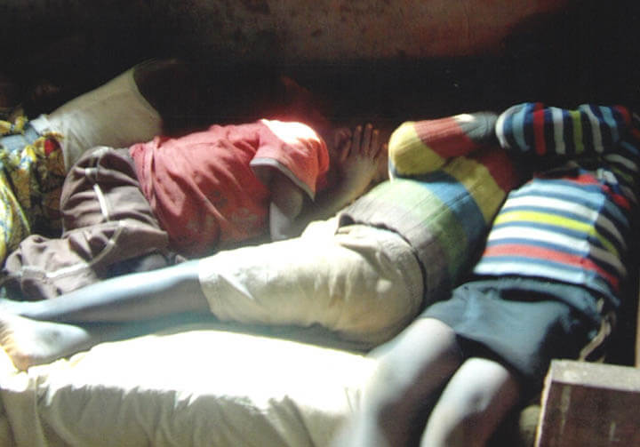 help orphans get their own bed to sleep in