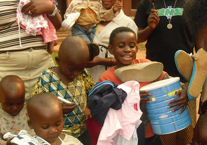 Orphans of Ndekesha in DR Congo