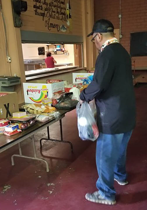 US Gallup NM, You helped Sacred Heart Cathedral provide 7 families with $100 each