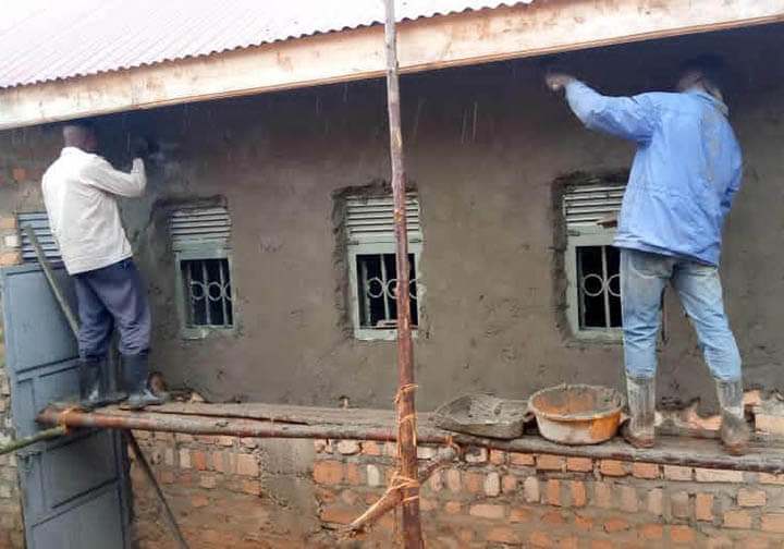 Uganda_St Philomena Dining hall washrooms