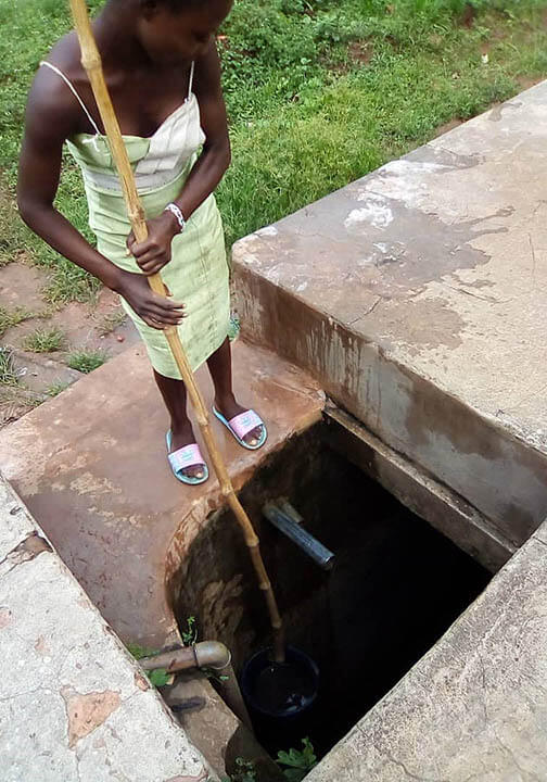 Women & children walk up to 3 miles to fetch water