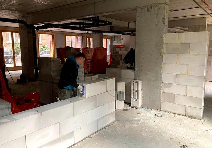 Legionaries of Christ. Apostles' House renovation in Poland