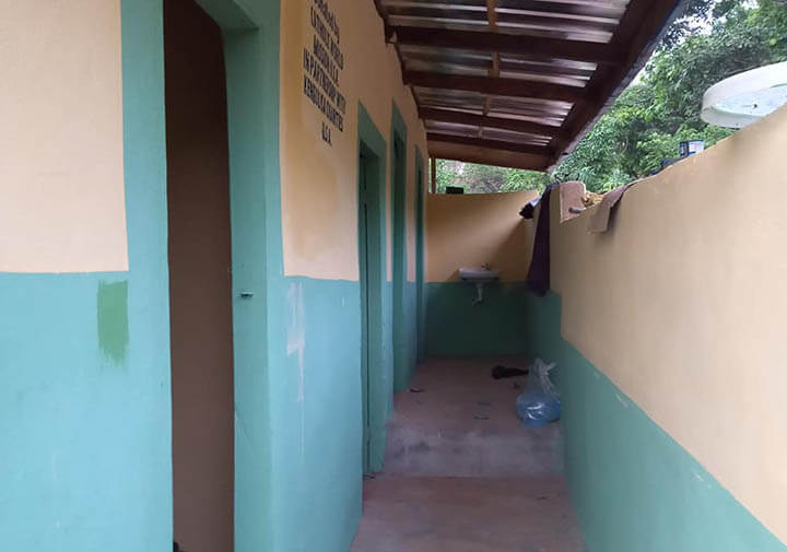 The kids of Holy Rosary School in Nigeria now have new bathrooms