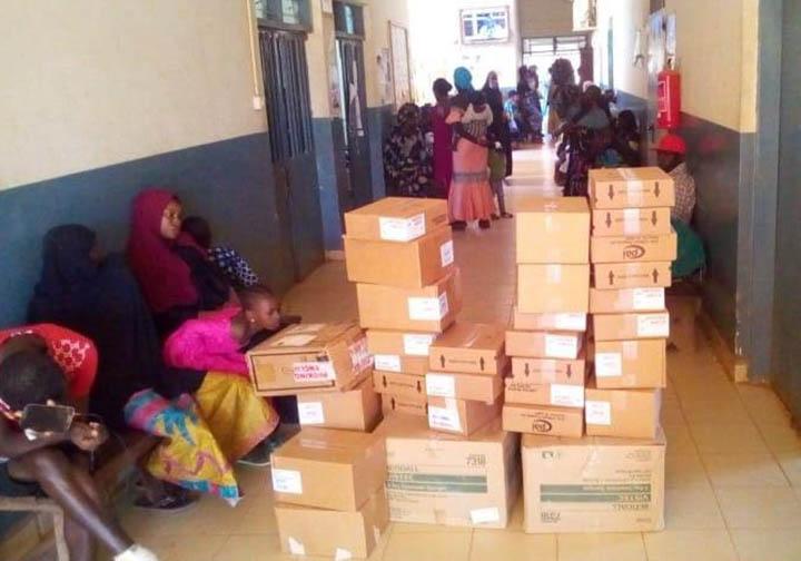 Medical supplies served 5,000 plus people