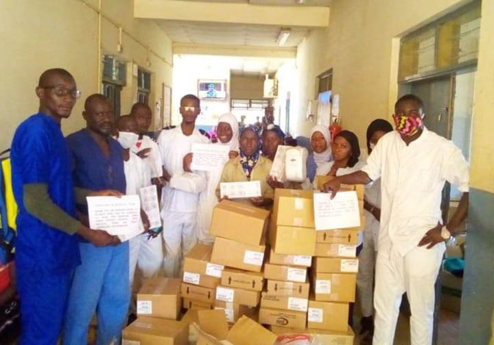 Gambia_shipments_Thanks to your support medical supplies were delivered