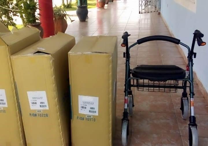 Wheelchairs shipments for Ghana