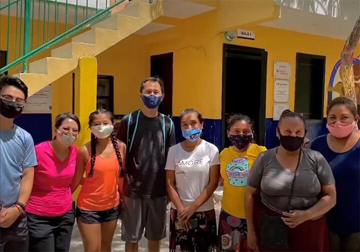 Volunteering at Sagrado Corazon Parish in Playa del Carmen Mexico