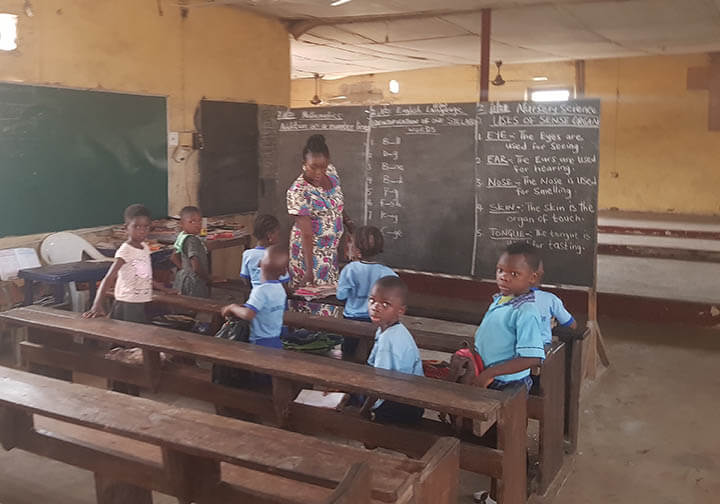 You can help these hard-working parents give their children a successful future in Nigeria