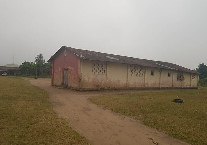 We can give the children the opportunity to study by renovating this church