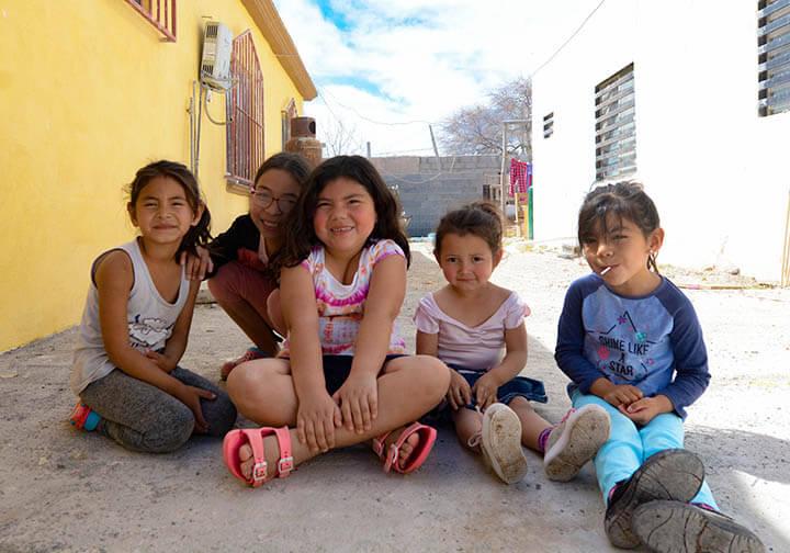 Cuatro Ciénegas kids Camino San Jose