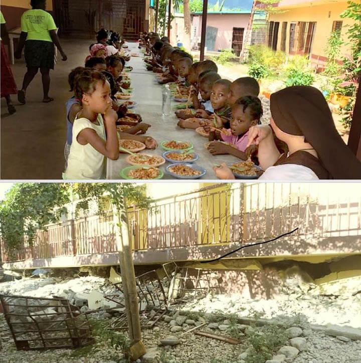 Haiti CFSOP feeding program after the earthquake