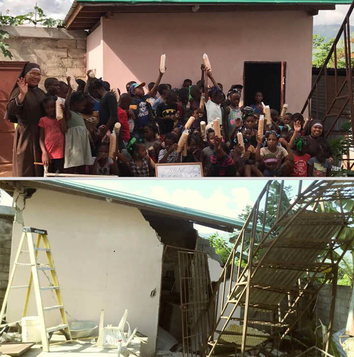 Haiti CFSOP before and after the earthquake