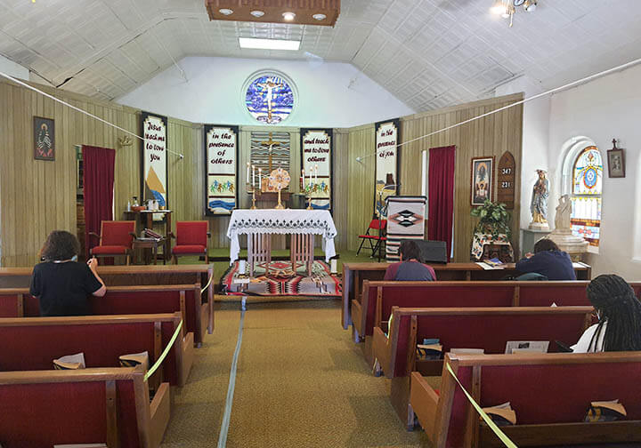 New Monstrance for St Joseph Keams Parish in Canyon AZ