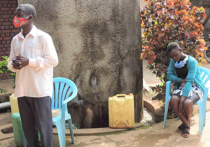 Uganda broadcast the Mass Project