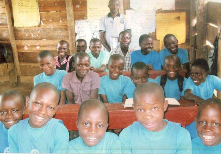 Kids at St Mary's school Uganda